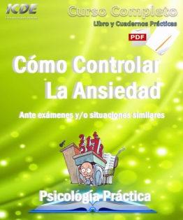 Libro cómo controlar la ansiedad